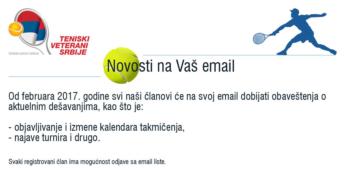 Novosti Teniskih Veterana Srbije